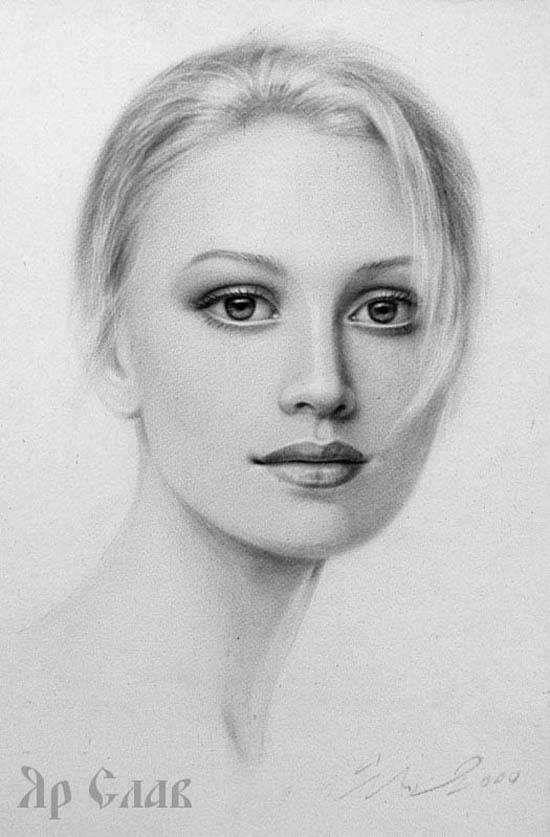 Как научиться рисовать портреты