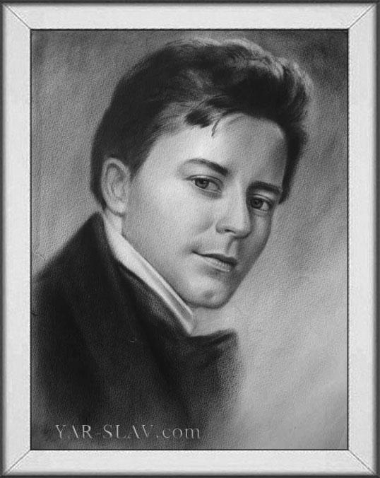 Портрет мужской портрет карандаш